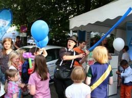 Ballonmodellieren für den WESER-KURIER Bremen