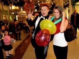 Ballonkünstler im Weserpark Bremen